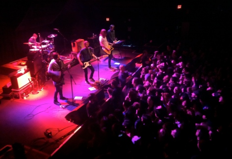 Desaparecidos plays to a sold out 9:30 Club on their short East Coast tour. Photo by Nico Dodd.