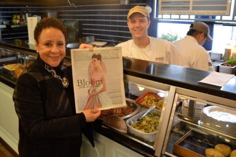 Owner Sheila Johnson at Market Salamander in Middleburg, Va.