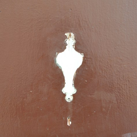 Ghost of a Door Knocker